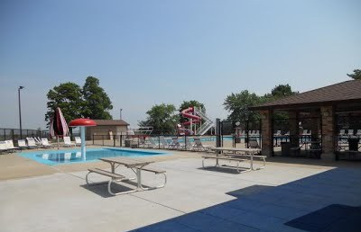 Community Pool Picnic Area